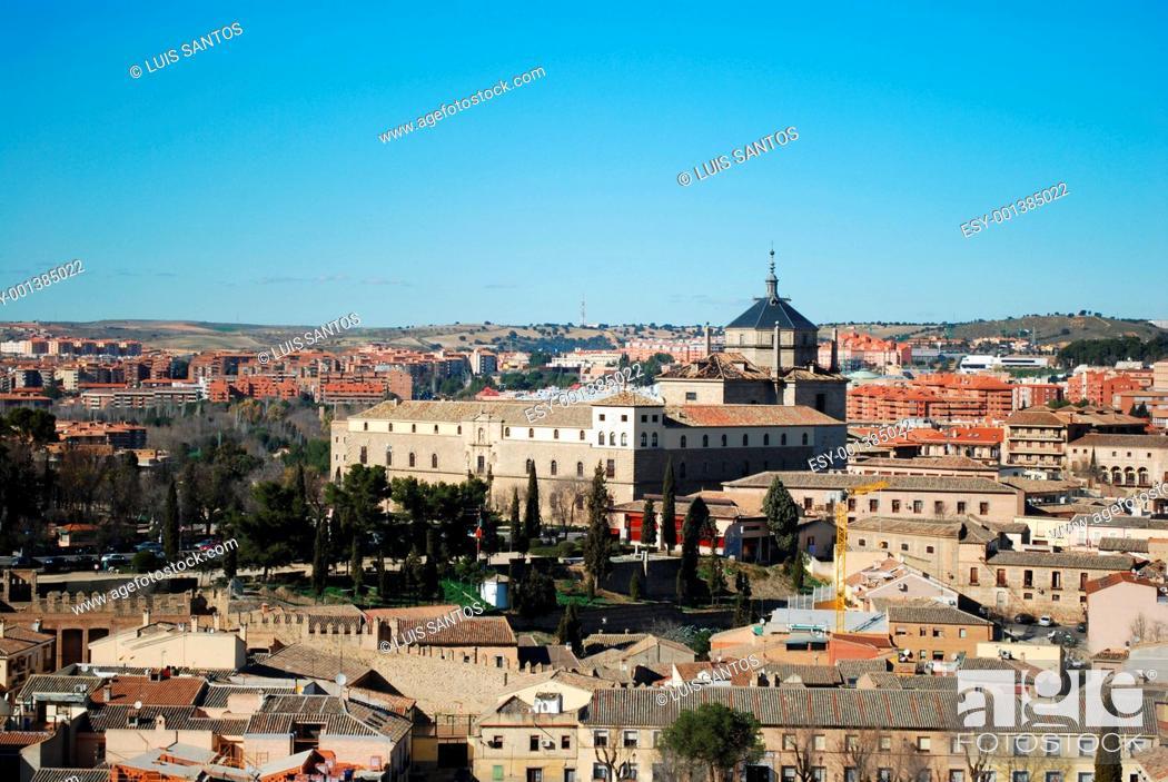 Stock Photo: View of Toledo, Spain.