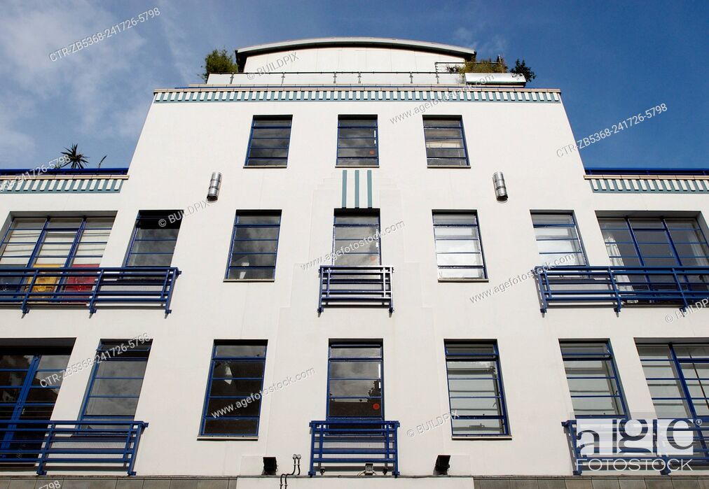 Imagen: Art-deco inspired apartments, Holborn, London, UK.