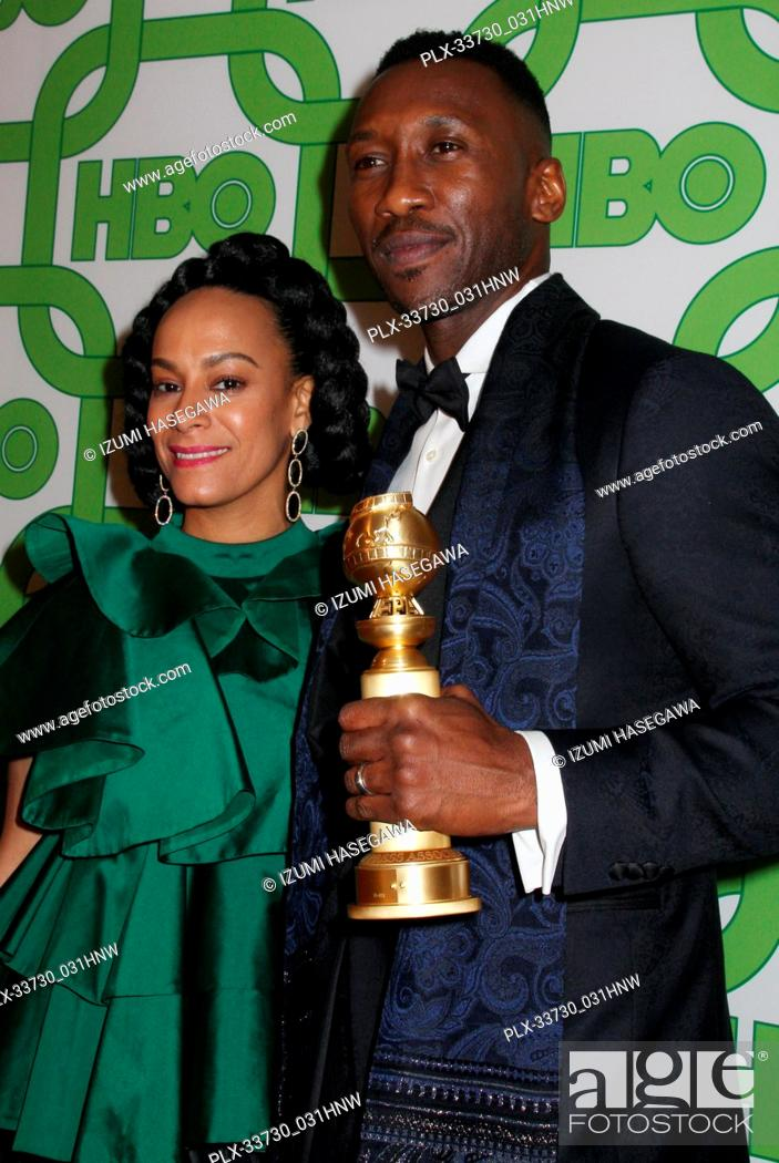 Imagen: Amatus Sami-Karim, Mahershala Ali 01/06/2019 The 76th Annual Golden Globe Awards HBO After Party held at the Circa 55 Restaurant at The Beverly Hilton in.