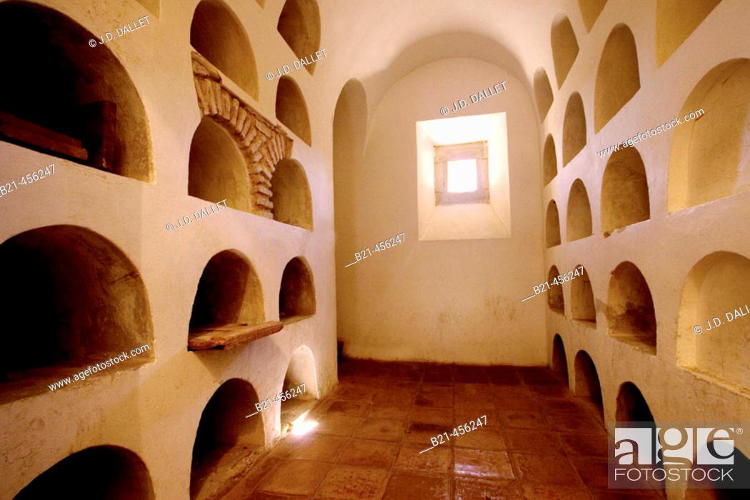 Stock Photo: 'Colegiata Santa Maria' church at Antequera. Málaga province. Andalucia. Spain.