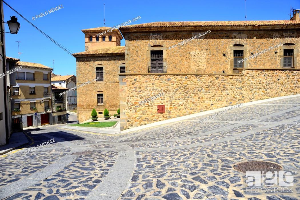 Imagen: Palace of the Castejones in Agreda, Soria, Spain.