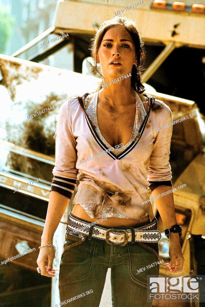 TRANSFORMERS MEGAN FOX as Mikaela Banes, Stock Photo ...