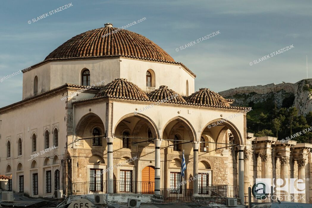 Stock Photo: Museum of Ceramics in central Athens, Greece.