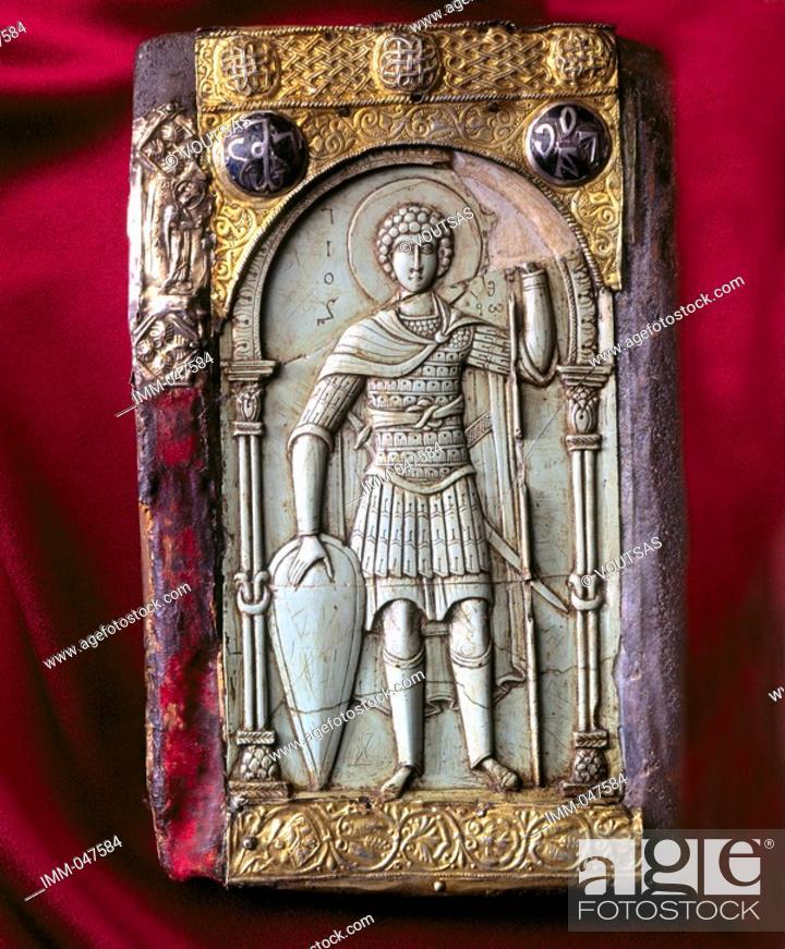 Imagen: Exclusive: Mount Athos Hidden Treasures 9,1 - Icon with St  George.
