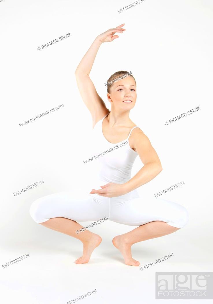 Stock Photo: ballet dancer.