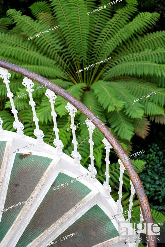 Stock Photo: Kew Gardens at London, United Kingdom, Great Britain, Europe.
