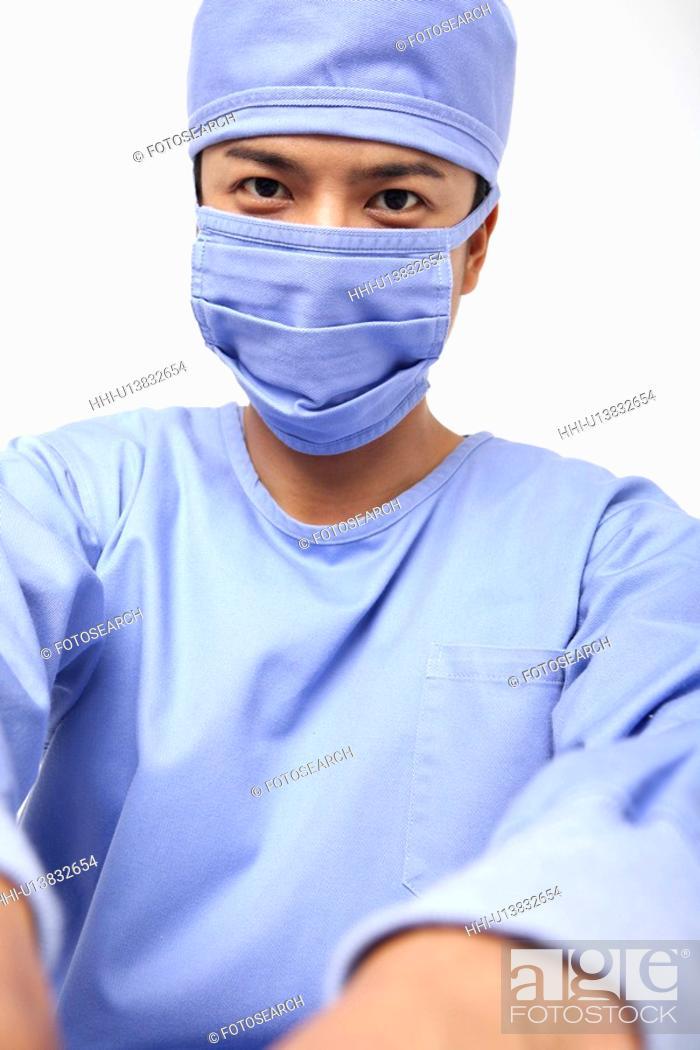 Stock Photo: Image of surgeon.