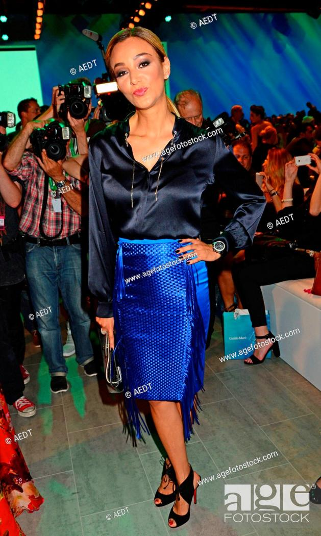 the best attitude 99991 38268 Verona Pooth at Guido Maria Kretschmer fashion show at Erika ...