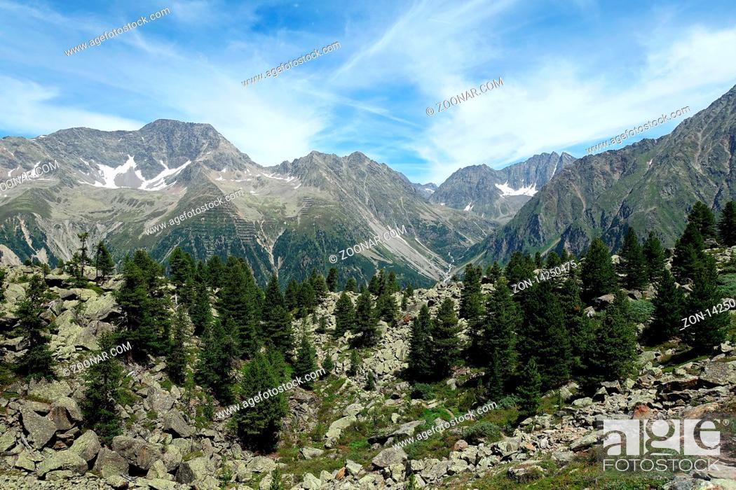 Imagen: Verano, Suelo, Andando, Excursionismo, Austria, Suciedad, Tirol, Alpes, Tirolés, Wandern, Tiroler, Osttirol, Berge, Sommer, Schoen, Schoene, Alpen