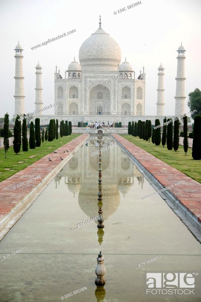 Stock Photo: The Taj Majal at dawn.