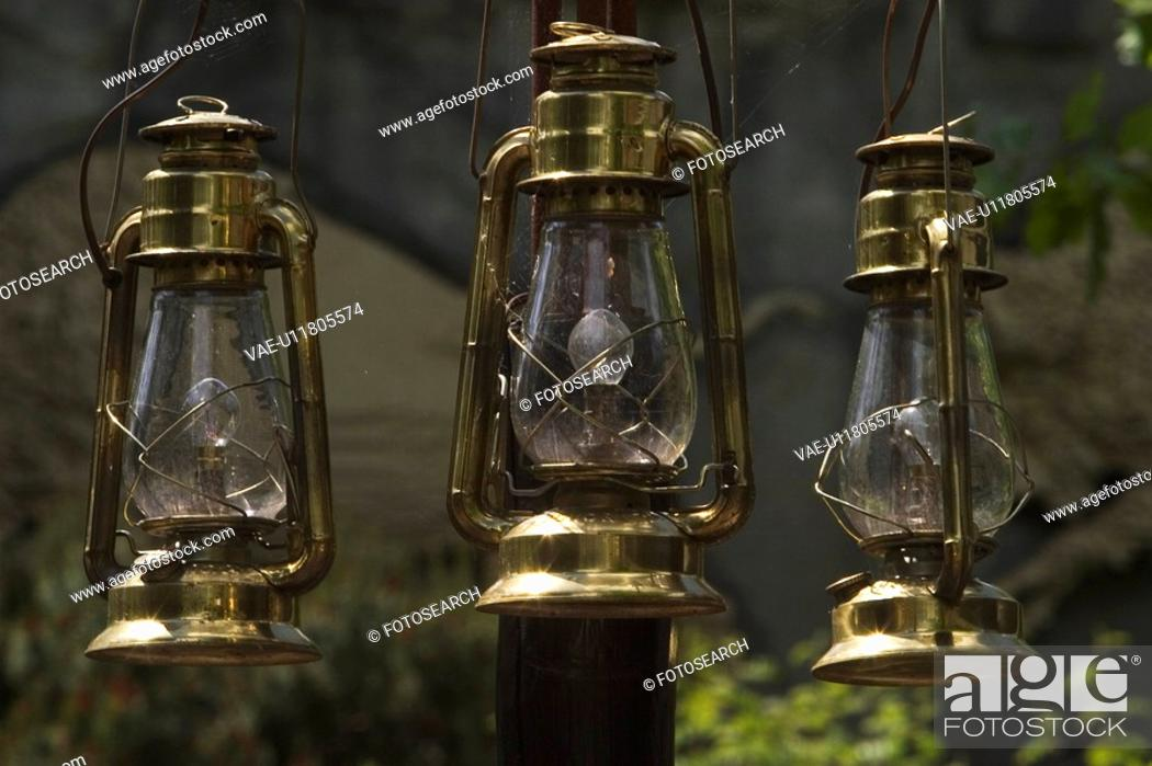 Stock Photo: Bulbs, Day, Clouds, Close-Up, Antique.