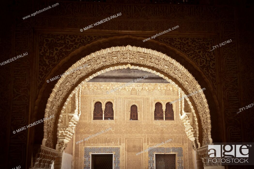 Stock Photo: Alhambra, Granada. Andalucia, Spain.