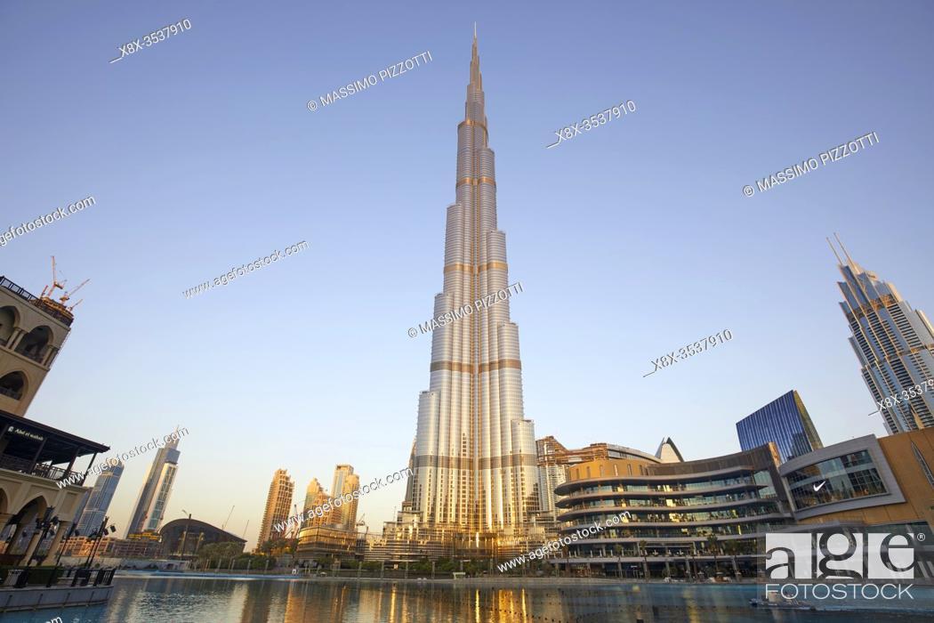 Imagen: Burj Khalifa, Dubai, United Arab Emirates.