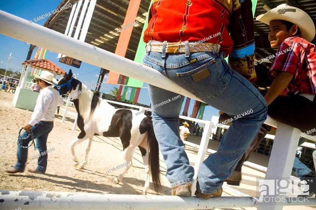 Stock Photo: Fair of 'Día de los Tres Reyes' Amusement park.