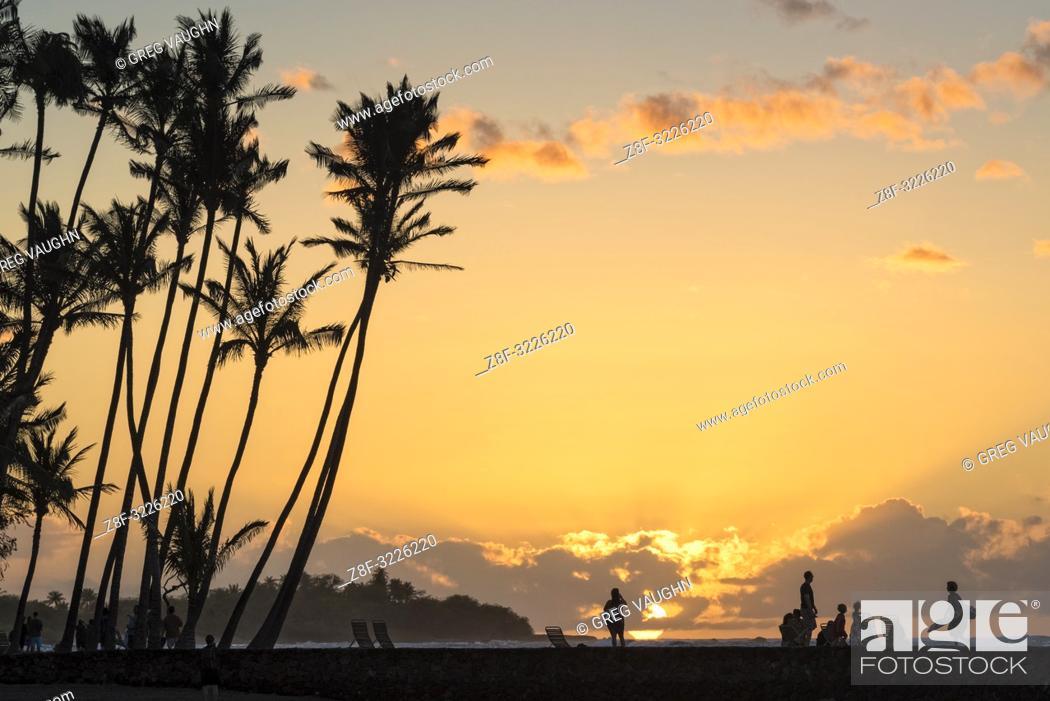 Imagen: 'Anaeho'omalu Bay (Waikoloa Resort), Big Island of Hawaii.