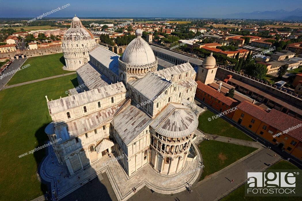 Stock Photo: The Duomo of Pisa, Italy.