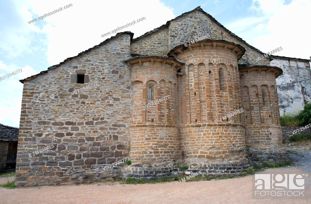 San Martin Church Santa Maria De Buil Ainsa Sobrarbe Municipality