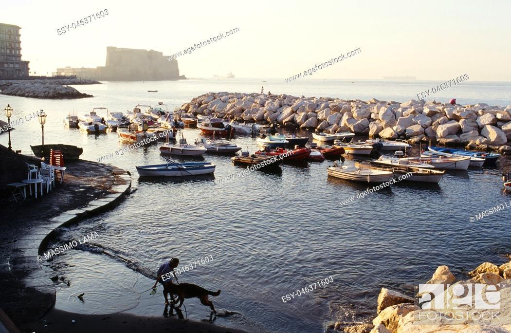 Imagen: Landscape via caracciolo, Napoli.