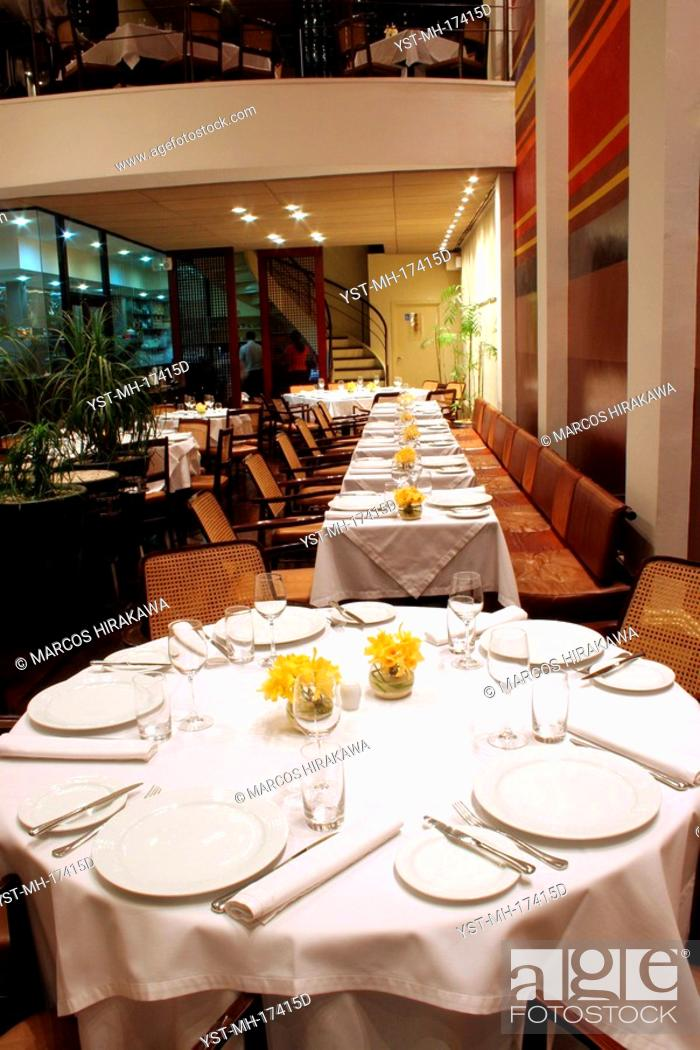 Restaurant Dom Sao Paulo Brazil Stock Photo Picture And Rights
