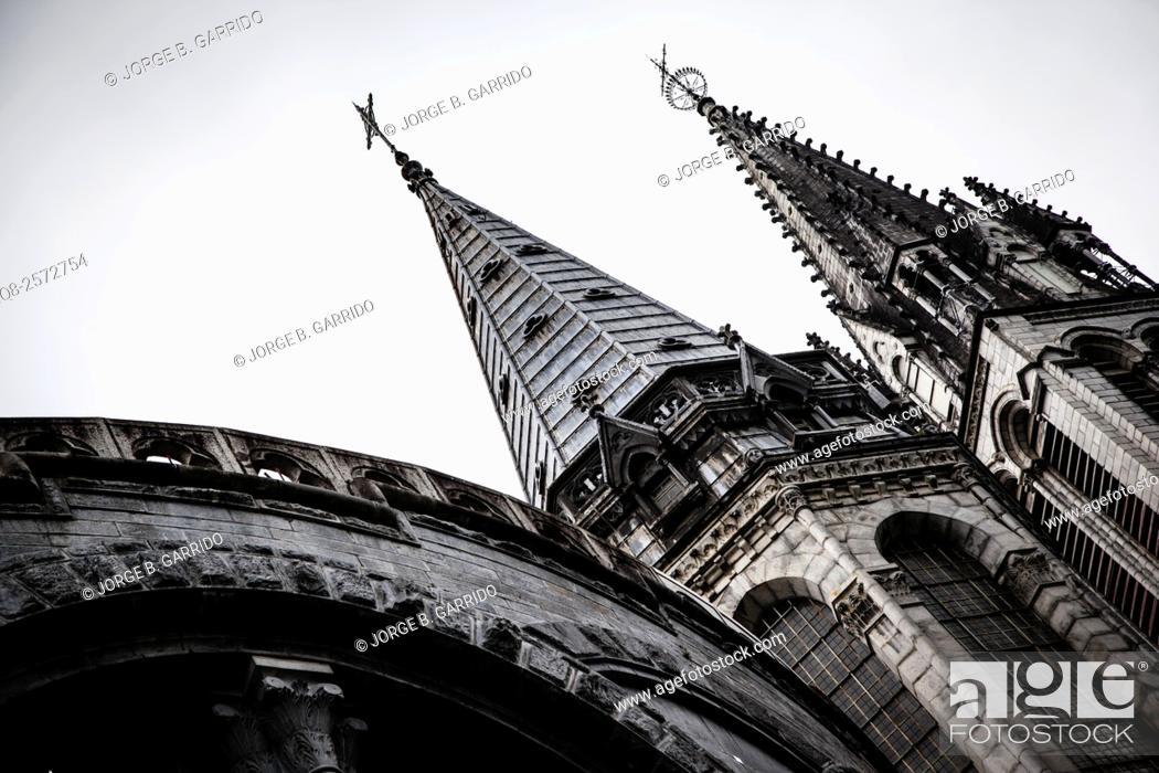 Stock Photo: Lourdes, High Pyrenees, France.