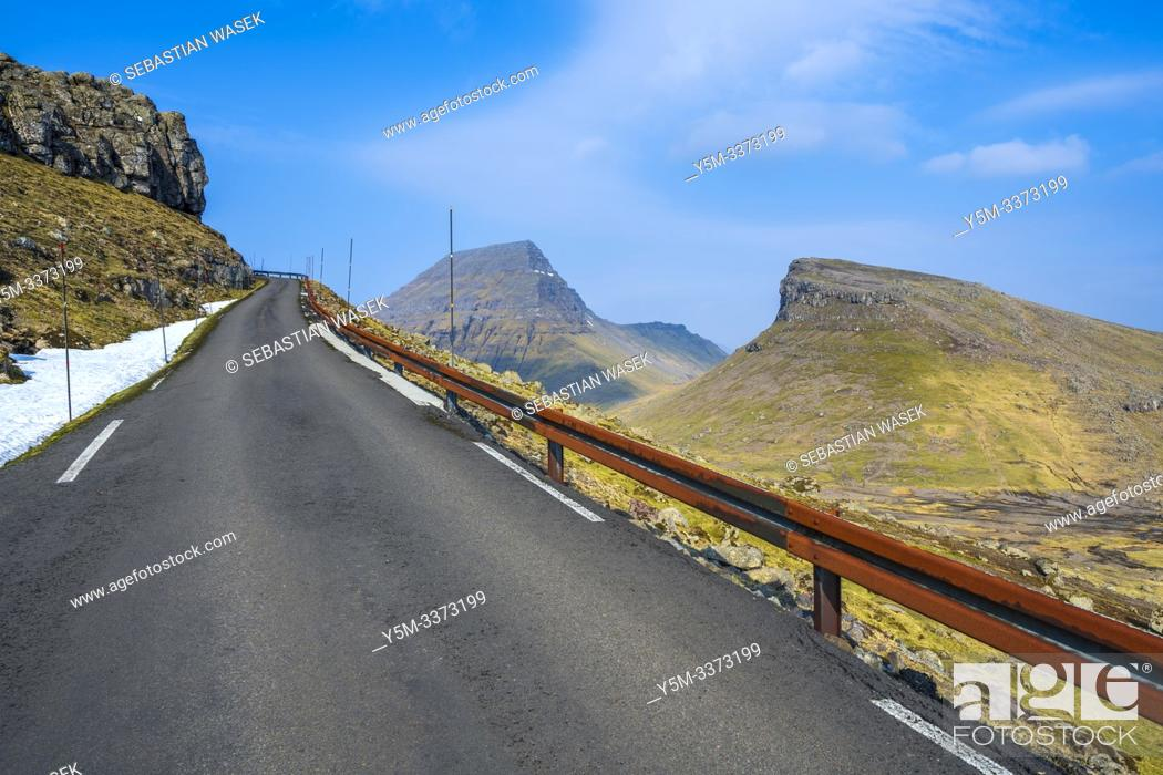 Stock Photo: Mjørkadalur, Streymoy Island, Faroe Islands, Denmark, Europe.