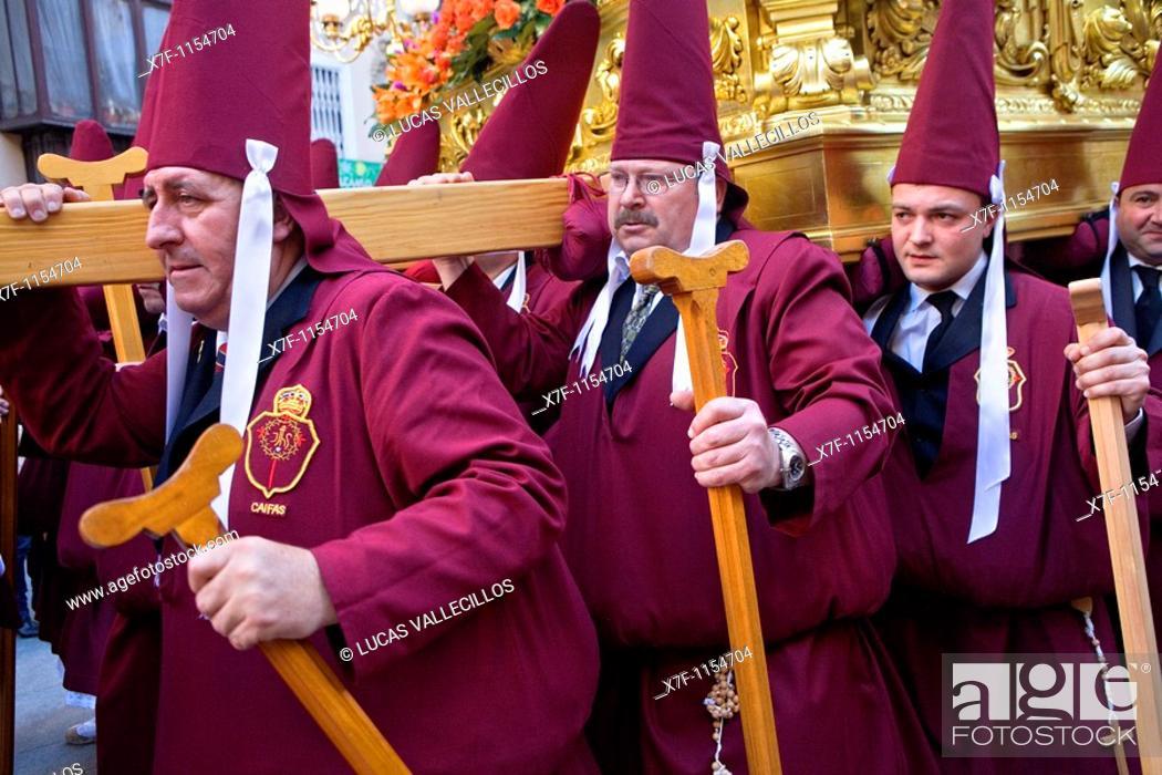 Easter Monday Procession Cofradia Del Santisimo Cristo Del Perdon