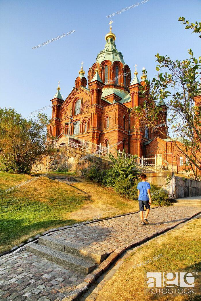 Stock Photo: Uspensky cathedral, Helsinki, Finland.