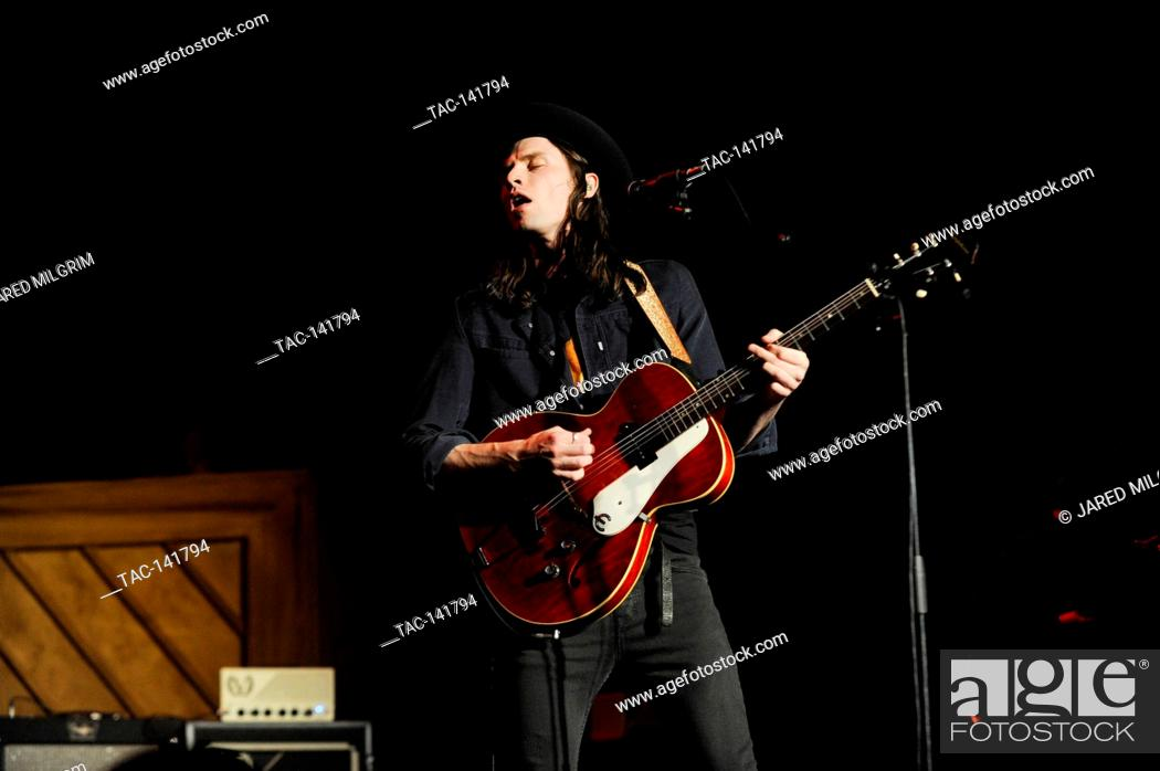 Stock Photo: Singer James Bay performs at the Hollywood Palladium on December 1, 2015 in Hollywood, California.