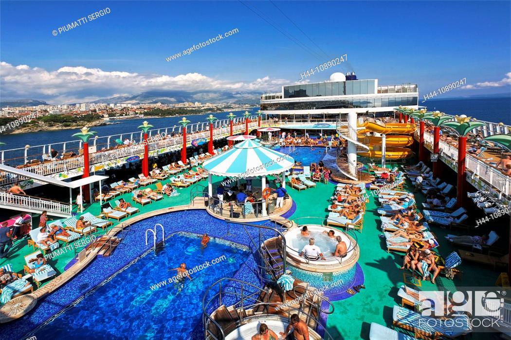 Croatia Europe Split NCL Norwegian Cruise Line Cruise Ship - Norwegian gem cruise ship