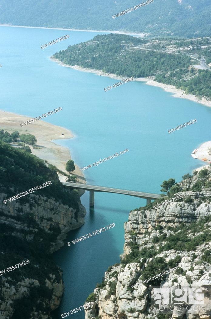Stock Photo: Lac de St. -Croix. Country: France. Region: Le Var.