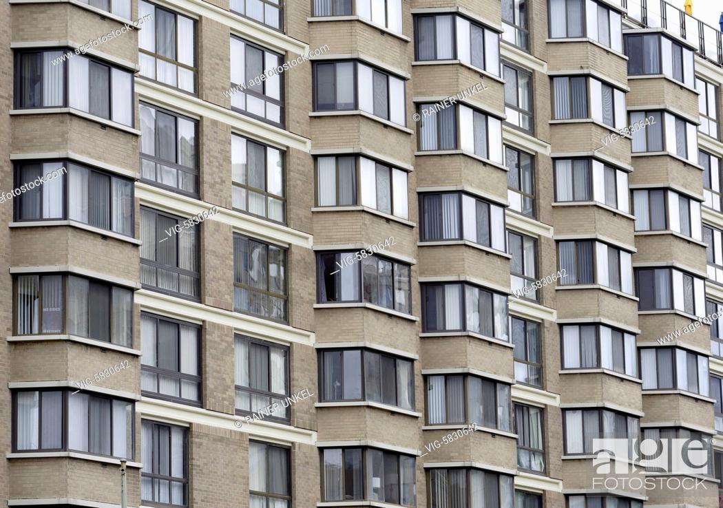 Stock Photo: USA : Apartments in Washington , 26.05.2017 - Washington, District of Columbia, USA, 26/05/2017.