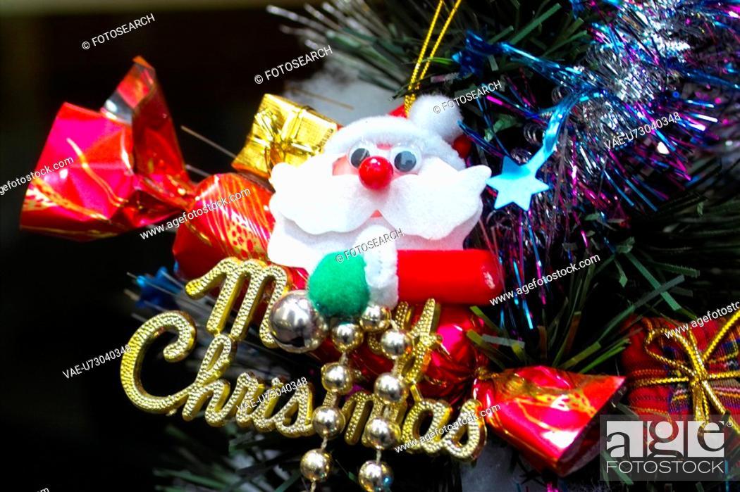 Stock Photo: christmas accessories, christmas, christmas accessory, object, merrychristmas, x-mas, tree.