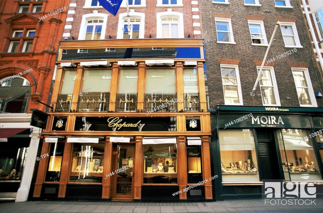 Photo de stock: UK, United Kingdom, Great Britain, Europe, Britain, England, Europe, London, Mayfair, Old Bond Street, jewellery, jewe.