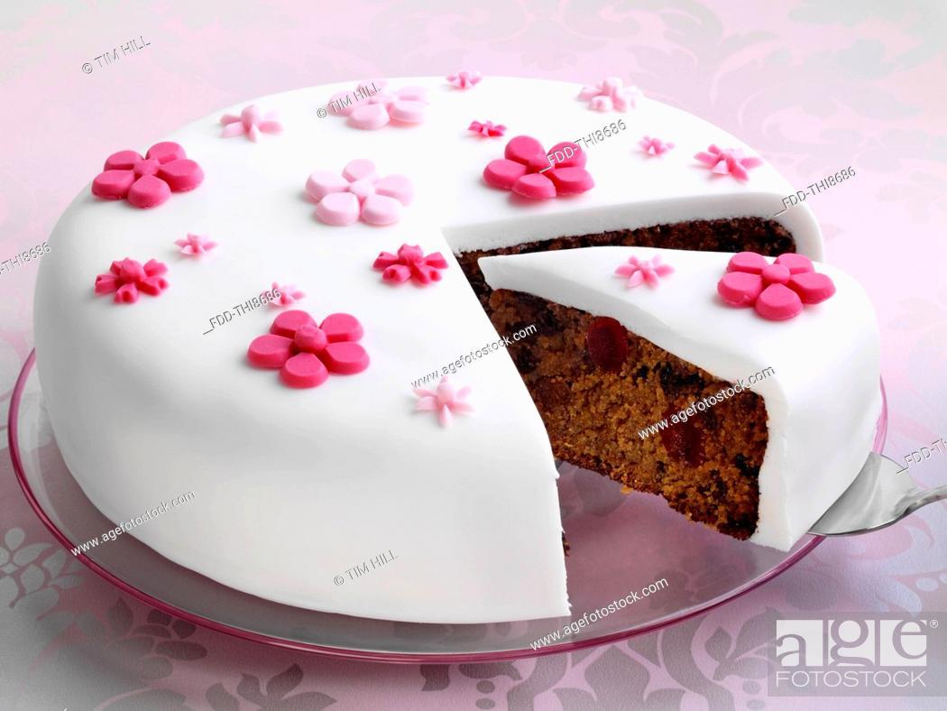 Imagen: Fruit cake.