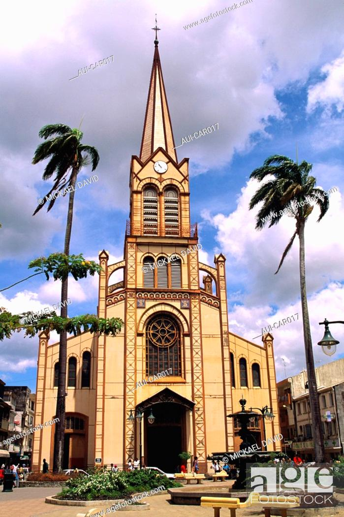 Stock Photo: Caribbean - Martinique - Fort de France.