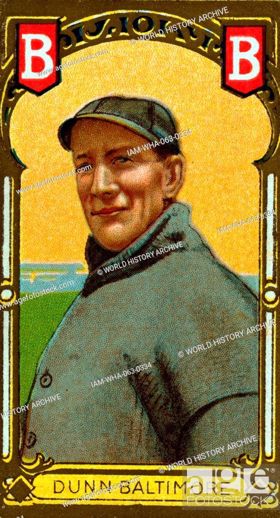 John Dunn, Baltimore Team, baseball card portrait  Sponsor