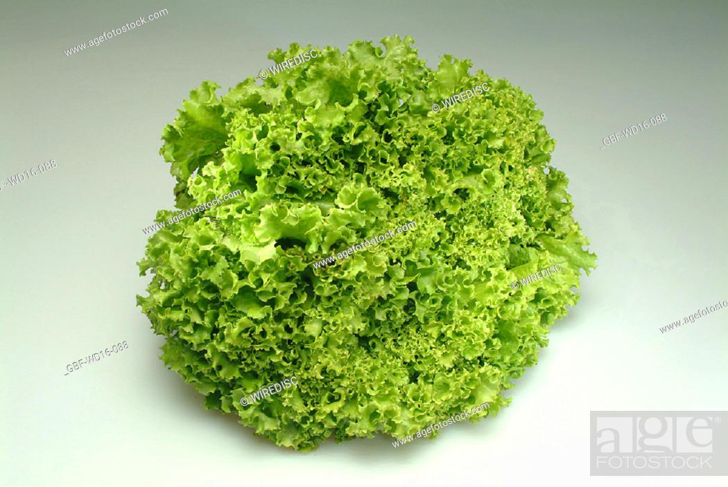 Stock Photo: Food, vegetables, lettuce.