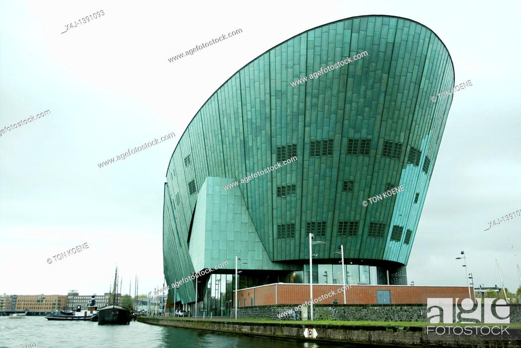 Stock Photo: Nemo museum in Amsterdam.