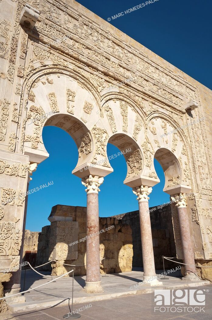 Stock Photo: Medina Azahara (Cordoba, Spain).