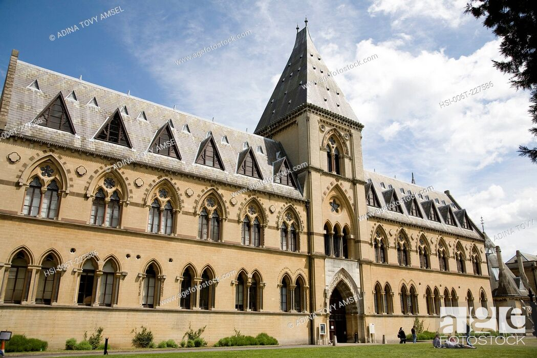 Stock Photo: Oxford University. Museum of Natural History. Oxford. England.