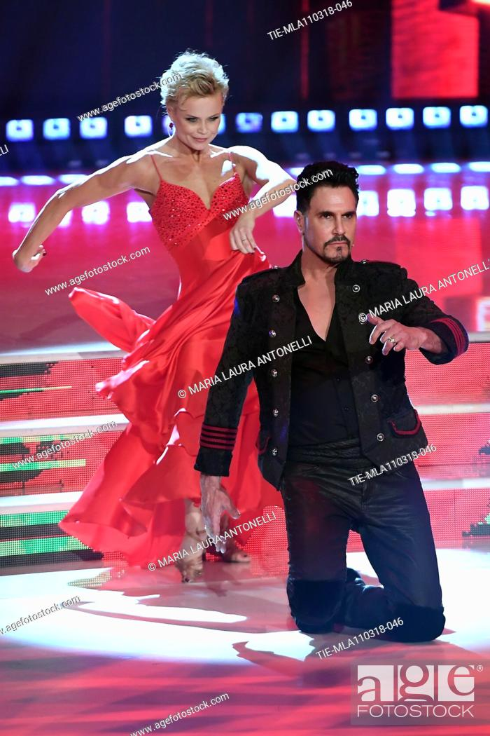 Hanna Karttunen Don Diamont During The Talent Show Dancing With The