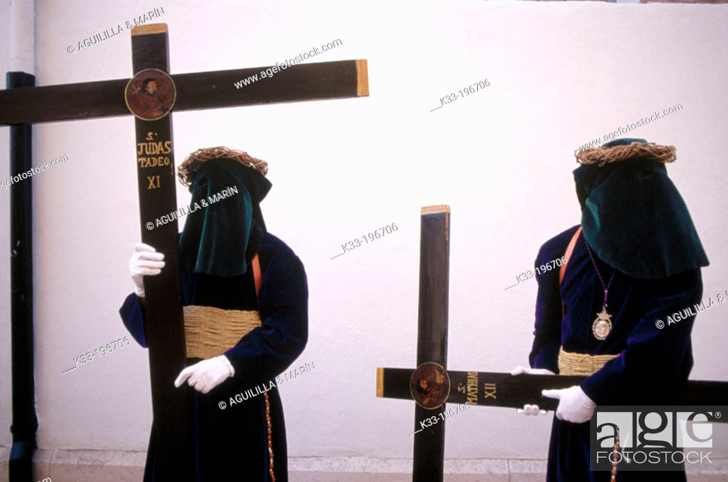 Stock Photo: Holy Week. Archidona. Málaga province. Spain.