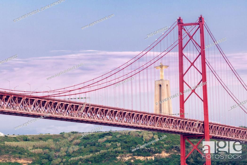 Imagen: Ponte 25 de Abril, - Bridge of April 25-, Lisboa, Portugal.