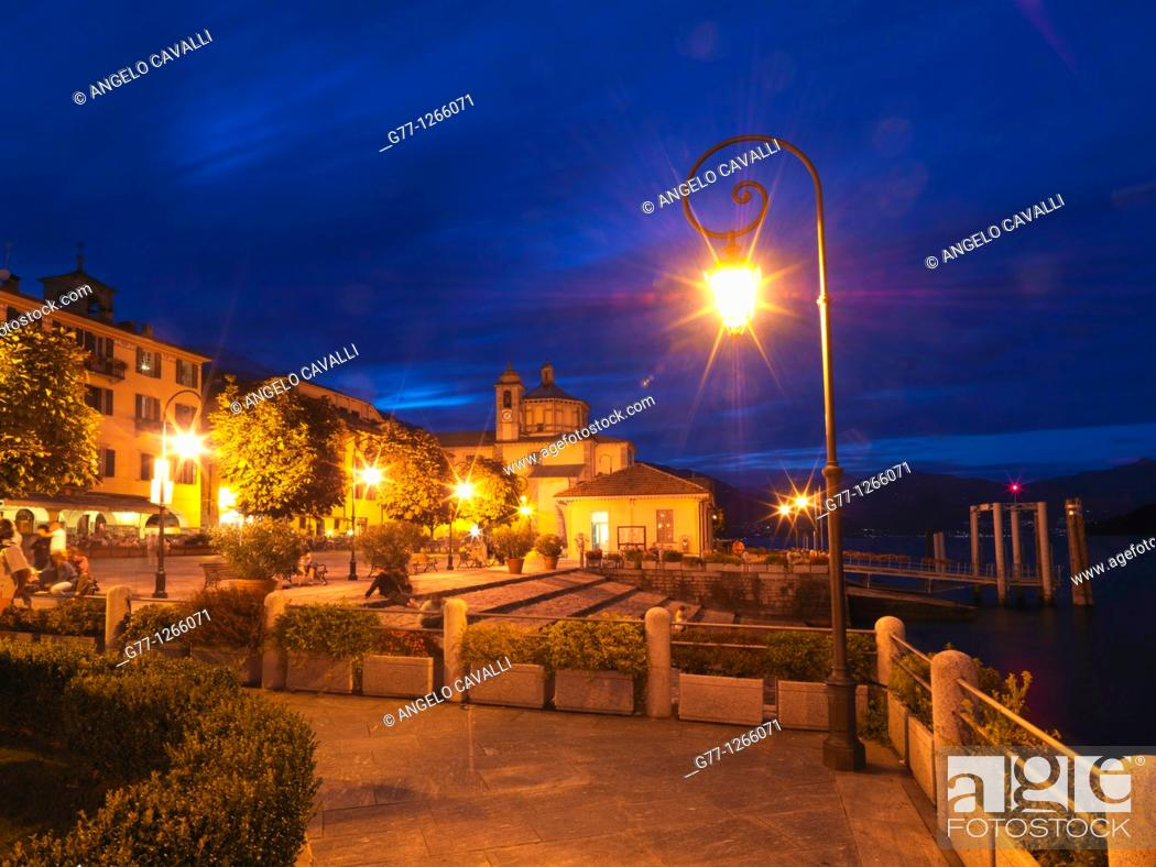 Stock Photo: Cannobio, Lake Maggiore, Piedmont, Italy.