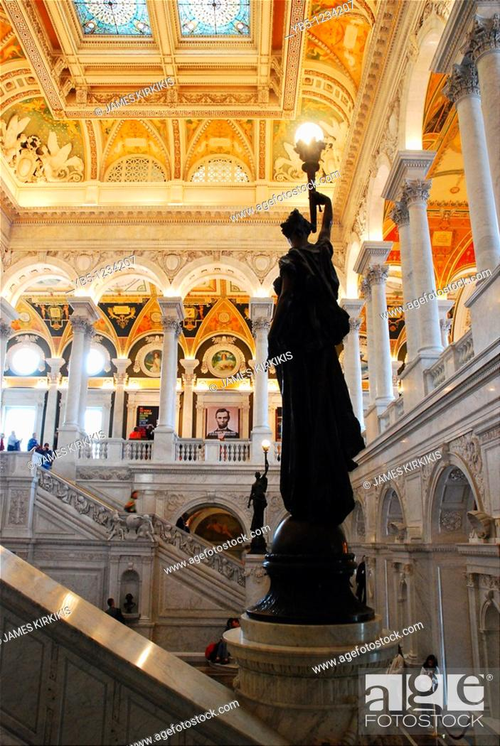 Stock Photo: Library of Congress.