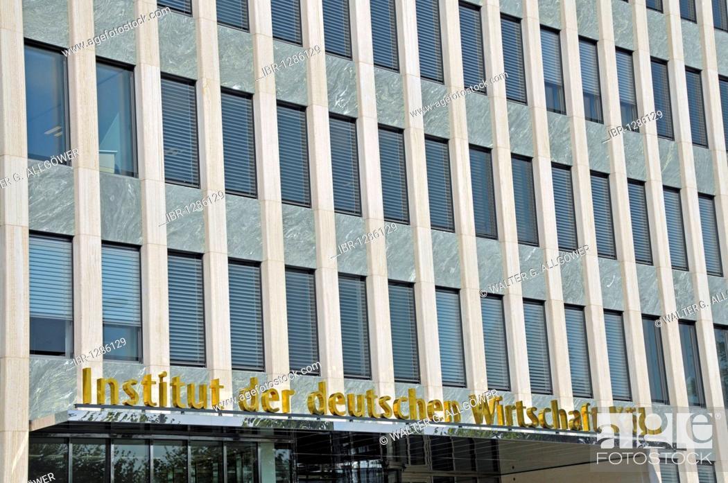instituts der deutschen wirtschaft