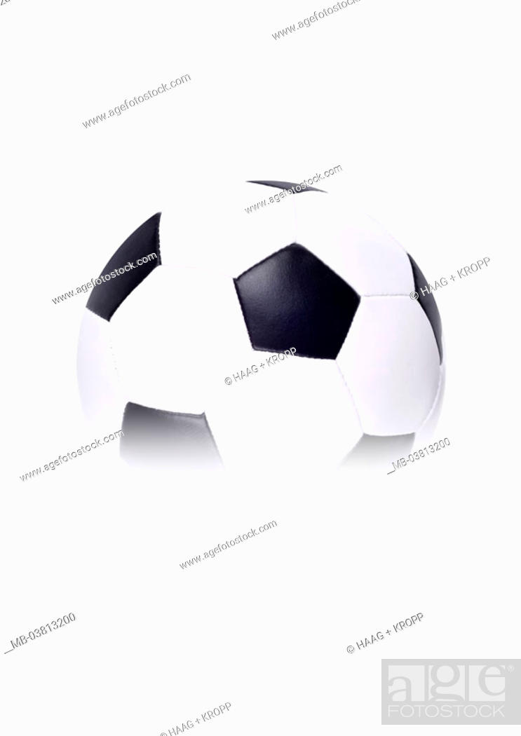 Football Black And White Fogs Series Ball Leather Ball