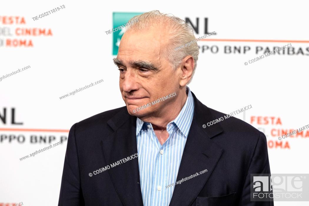 Imagen: Martin Scorsese during 'The Irishman' film photocall at 14th Rome Film Fest, Rome, Italy 21/10/2019.