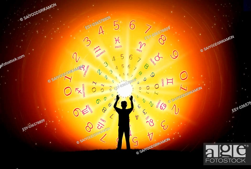 Background Of Astrology And Fortune Concept Stock Photo Picture And Low Budget Royalty Free Image Pic Esy 036578809 Agefotostock