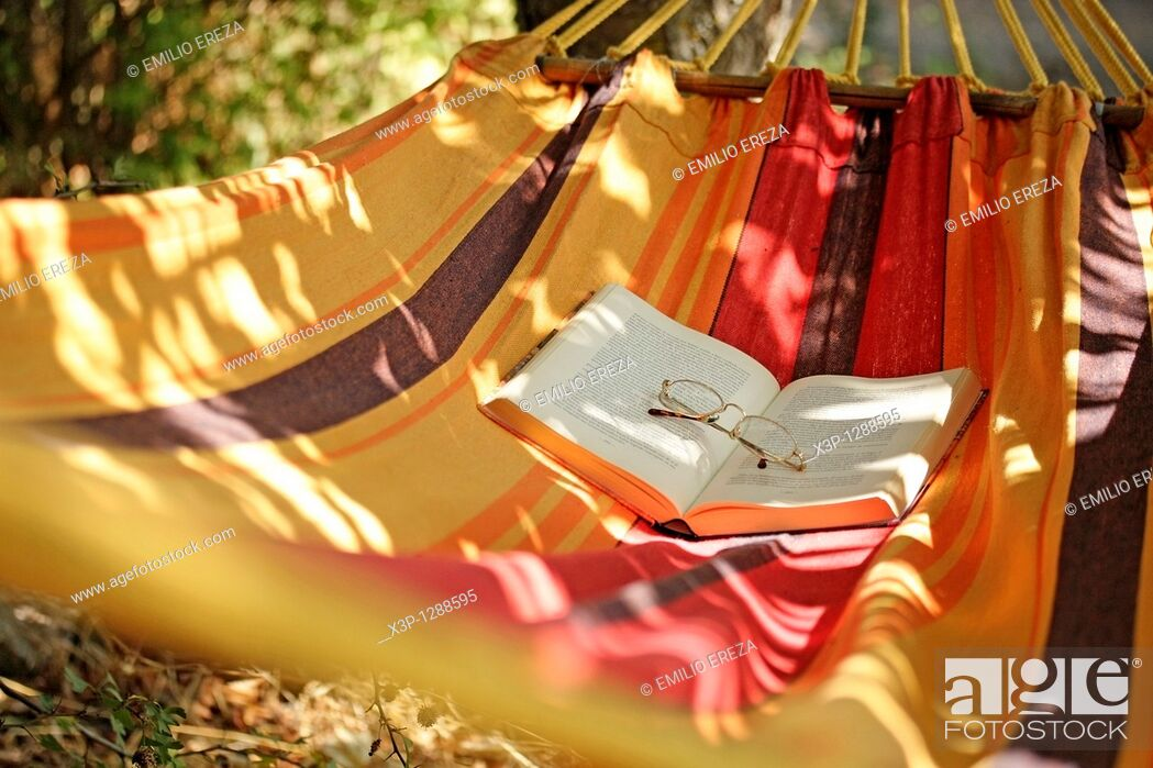 Stock Photo: Hammock.